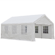 6m x 4m PVC Industrial Grade Marquee Party Tent Inc Ground Frame